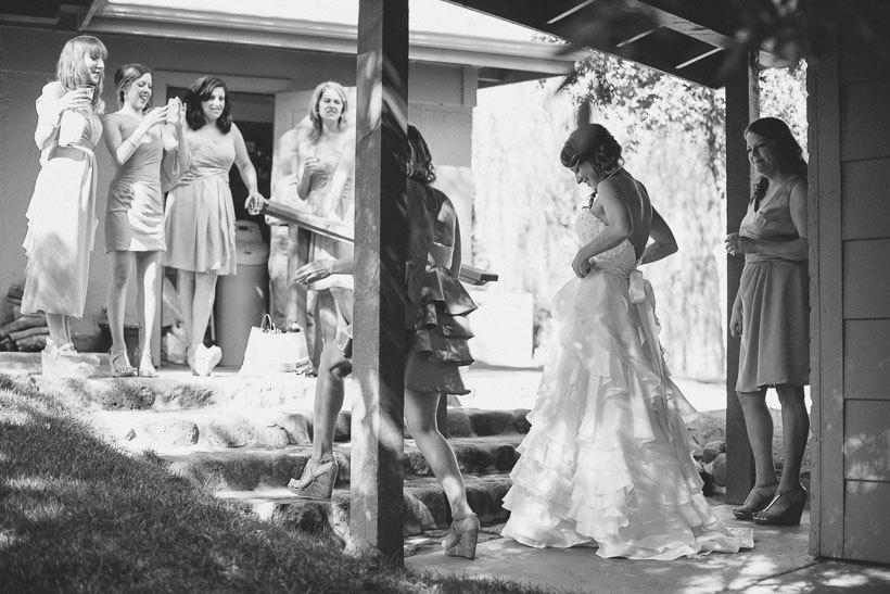 свадьба на ранчо Van Dickson в Аризоне