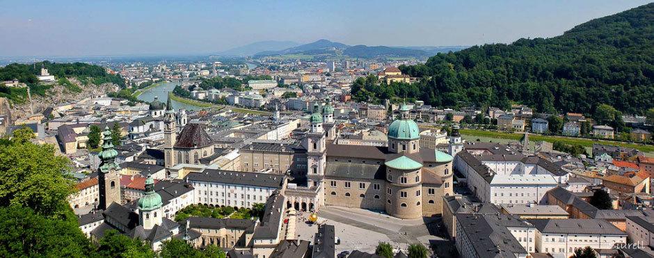 Вид Зальцбургский собор
