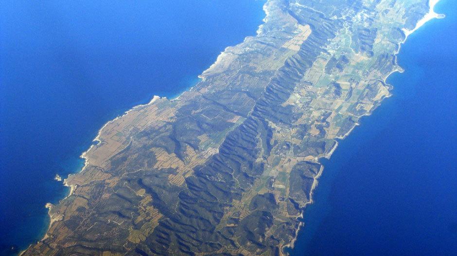 Вид на остров Кипр