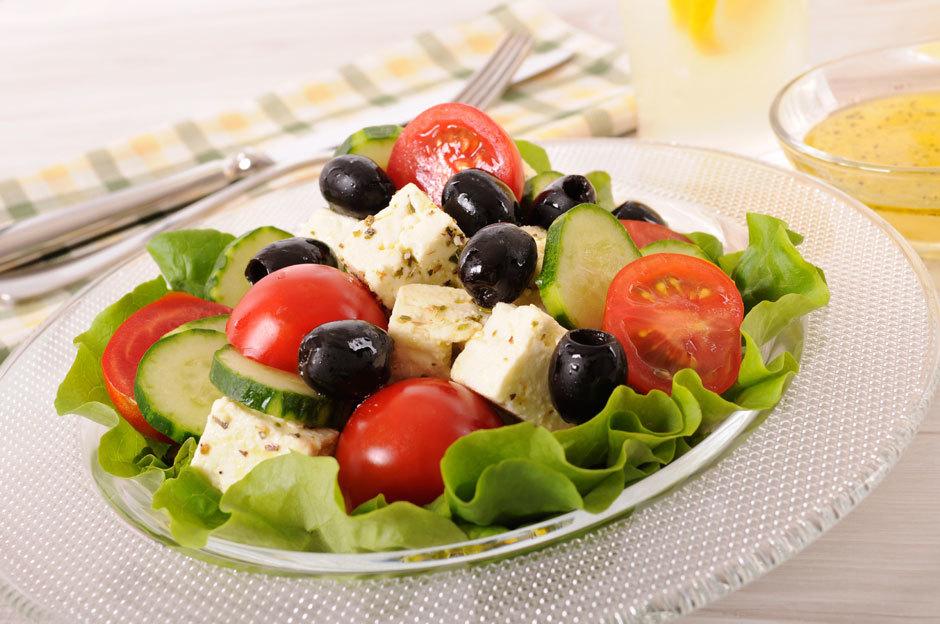 греческий салат по европейски