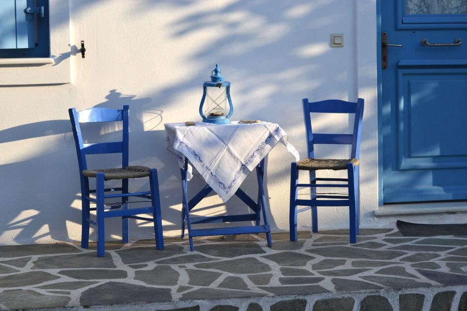 уютная греция