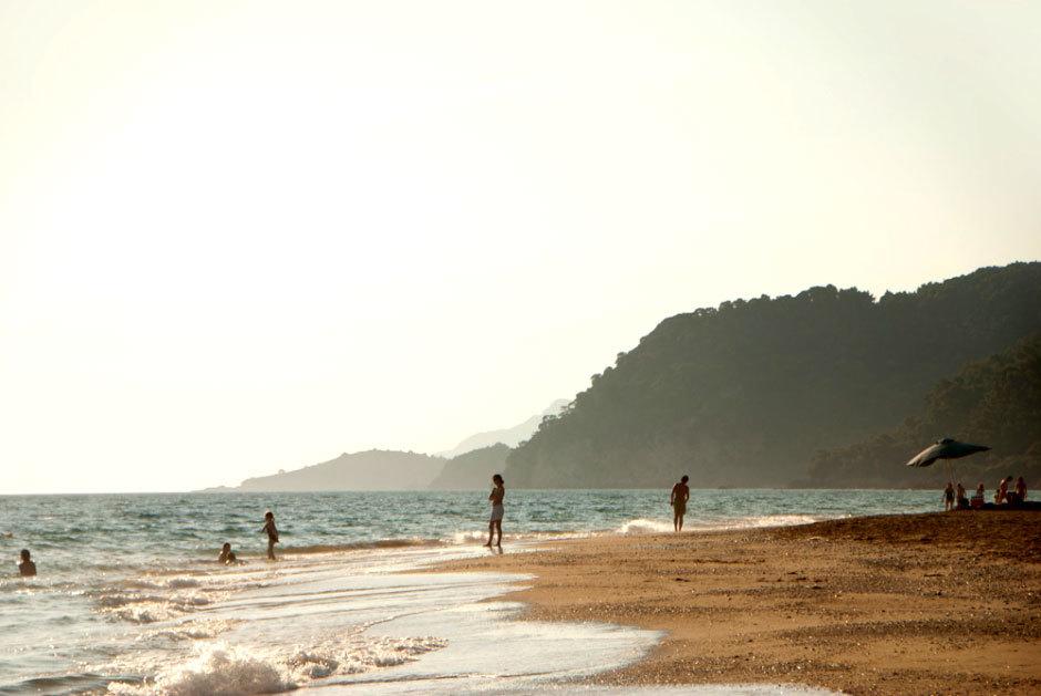 Vrachos пляж