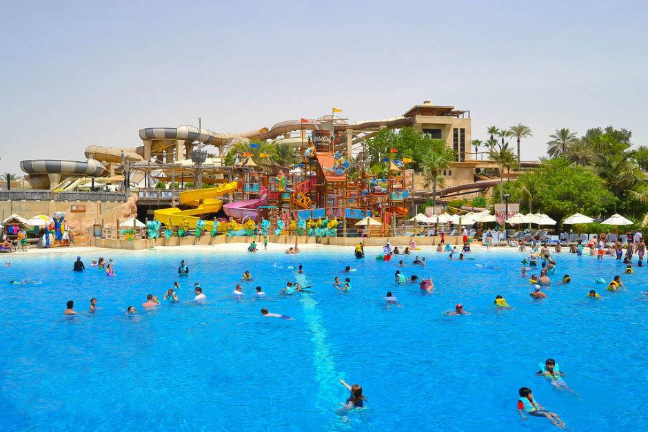 Wild Wadi Water Park в Дубае (ОАЭ)