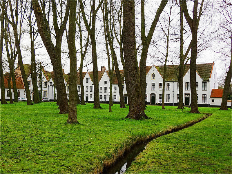 Бегинаж-в-Брюгге