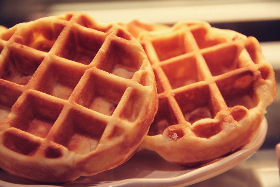 Бельгийские-вафли-на-завтрак