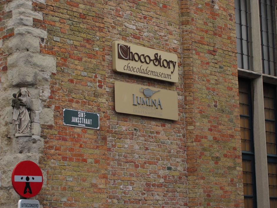 Музей шоколада, Брюгге
