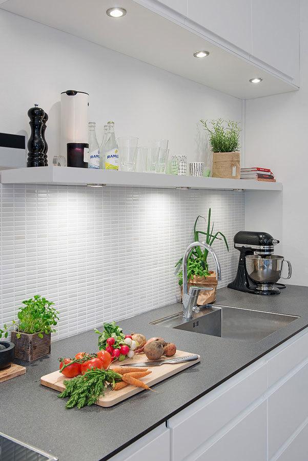 Стильная кухня в Швеции
