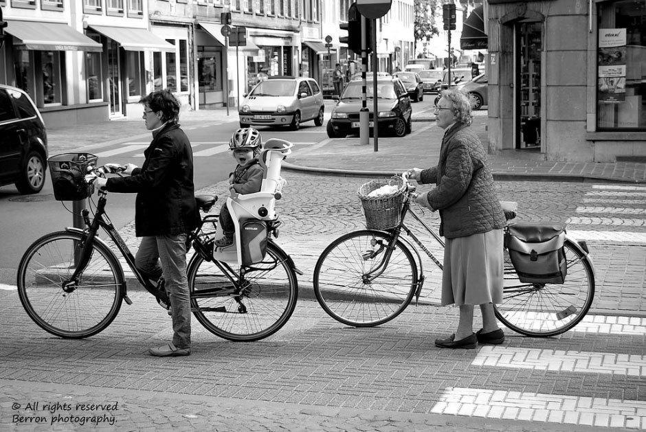 велосипеды в Бельгии