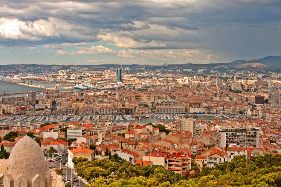 город Марсель фото