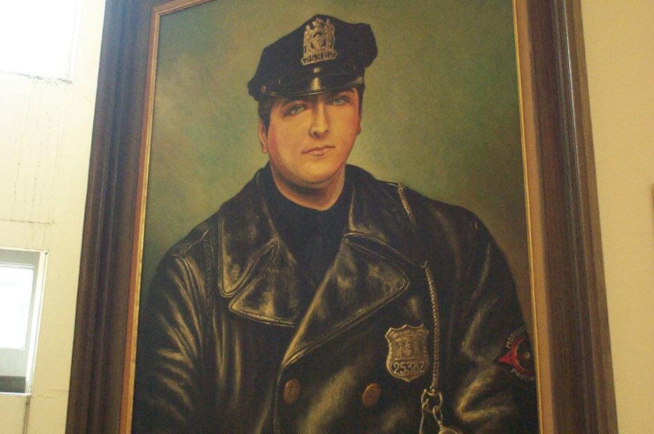 портрет офицера полиции, 1971 год