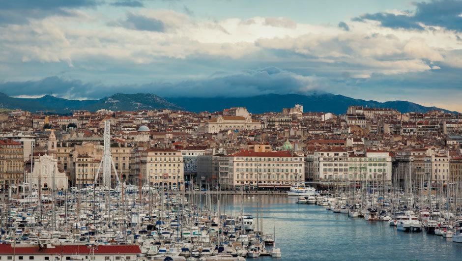 французский город Марсель