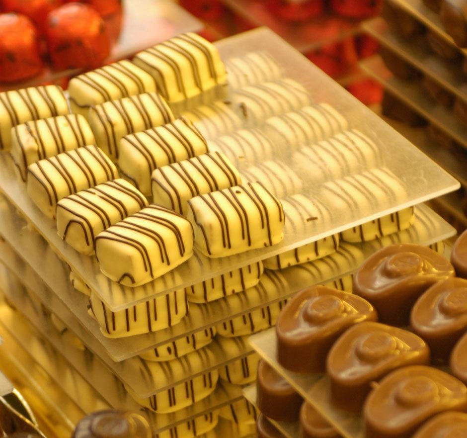 шоколадные-конфеты из Бельгии