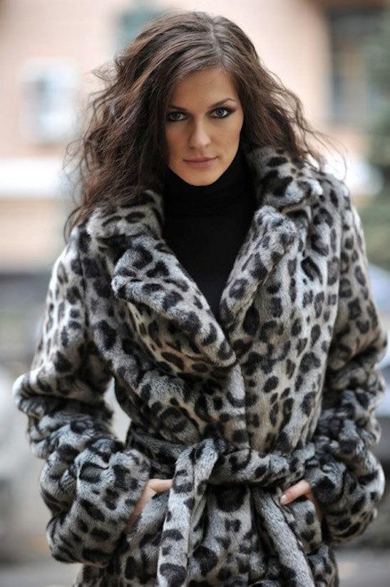 Eco Fashion шуба под рысь