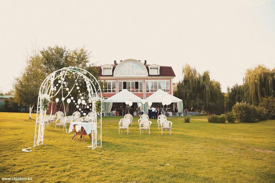 Красивая свадьба в Алматы