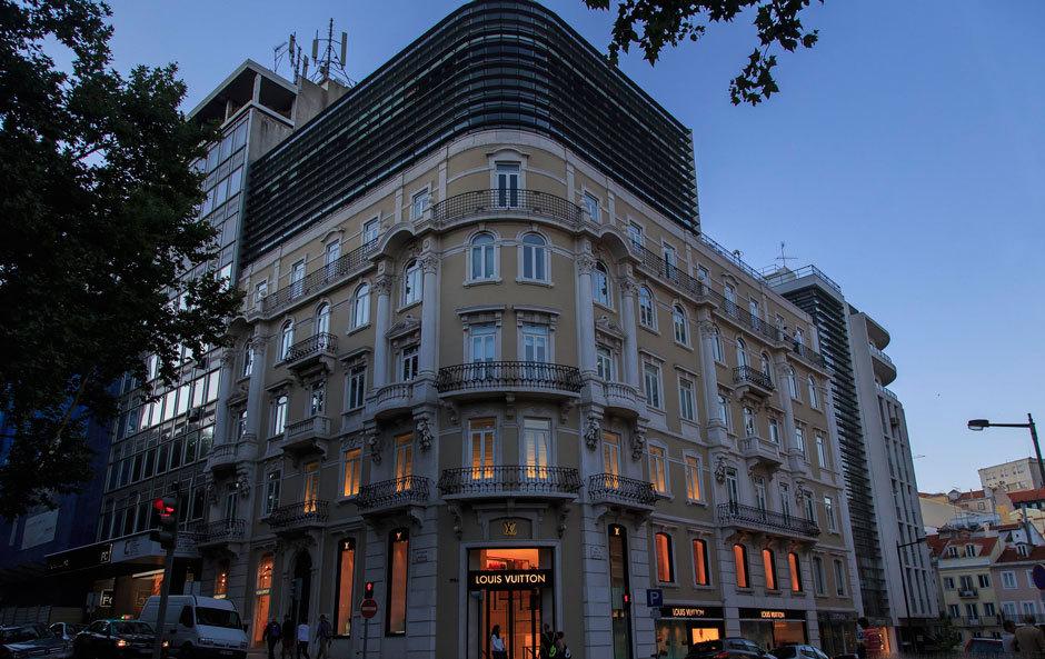 Бутик Луи Виттон в Лиссабоне
