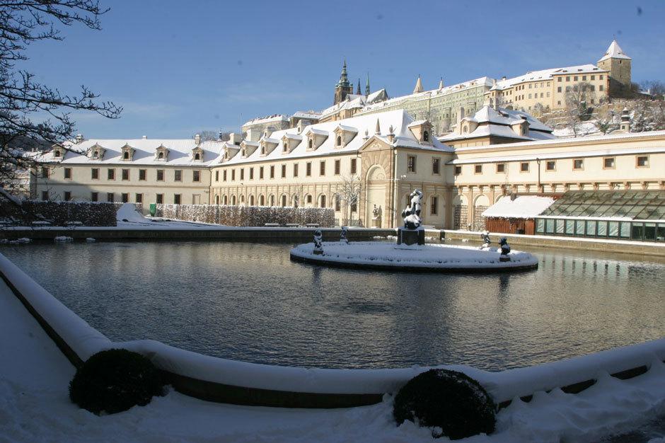 Вальдштейнский сад зимой