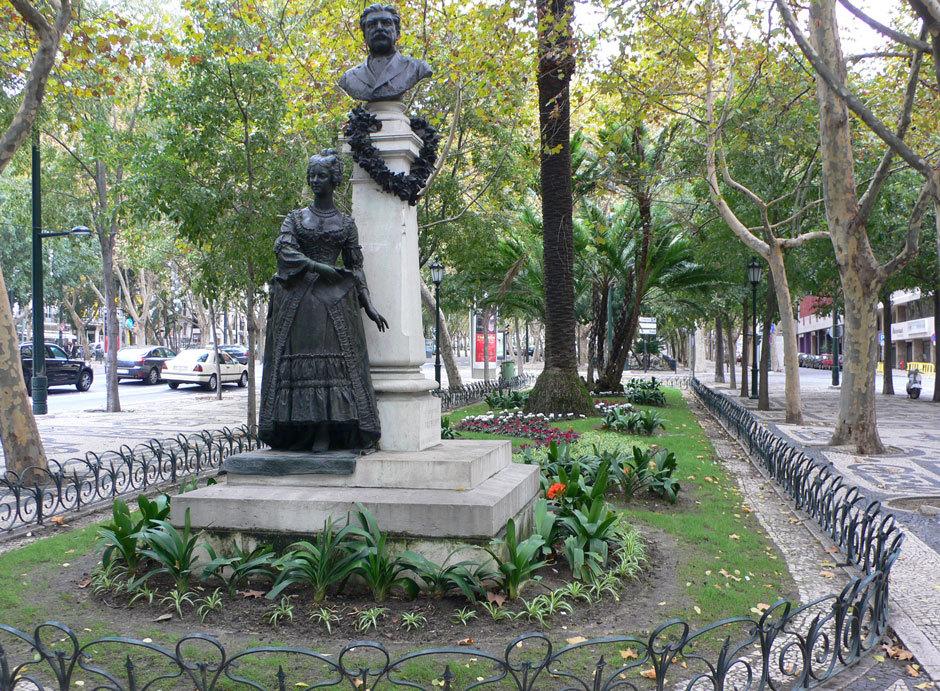 Проспект свободы в Лиссабоне (9)