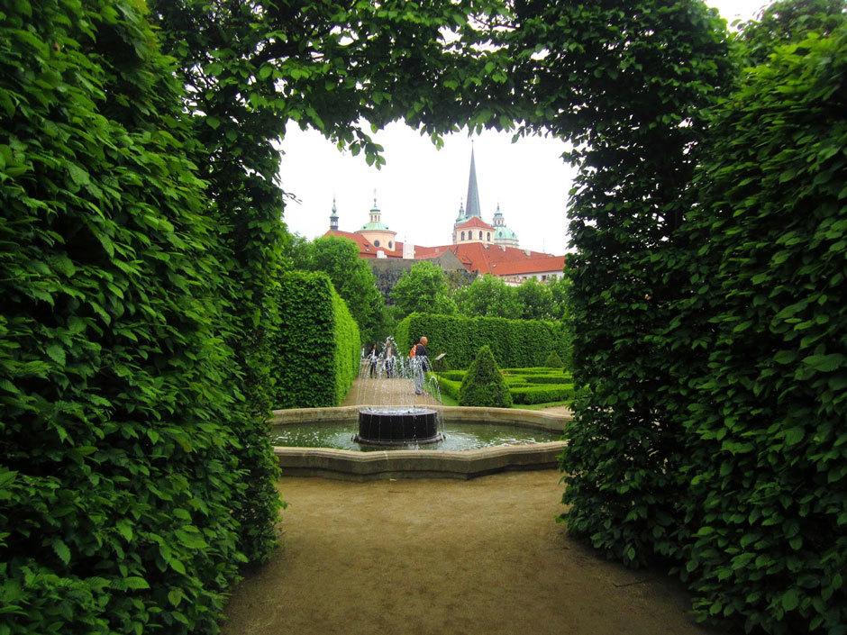 Сад в стиле раннего барокко