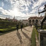Достопримечательности Праги: Вальдштейнский сад