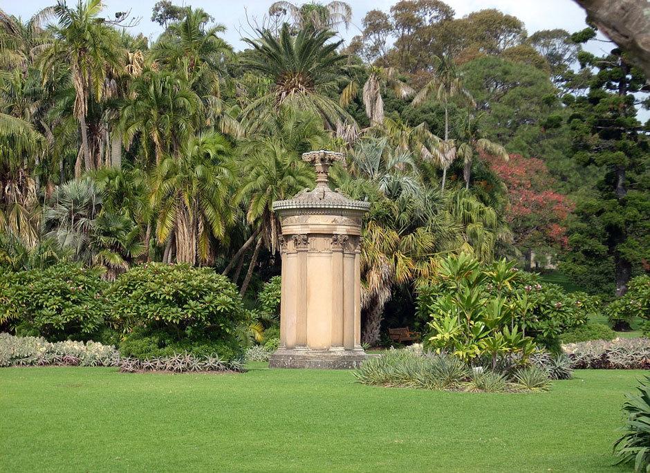 ботанический сад в Сиднее