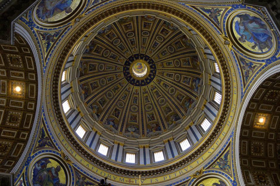 ватикан потолок