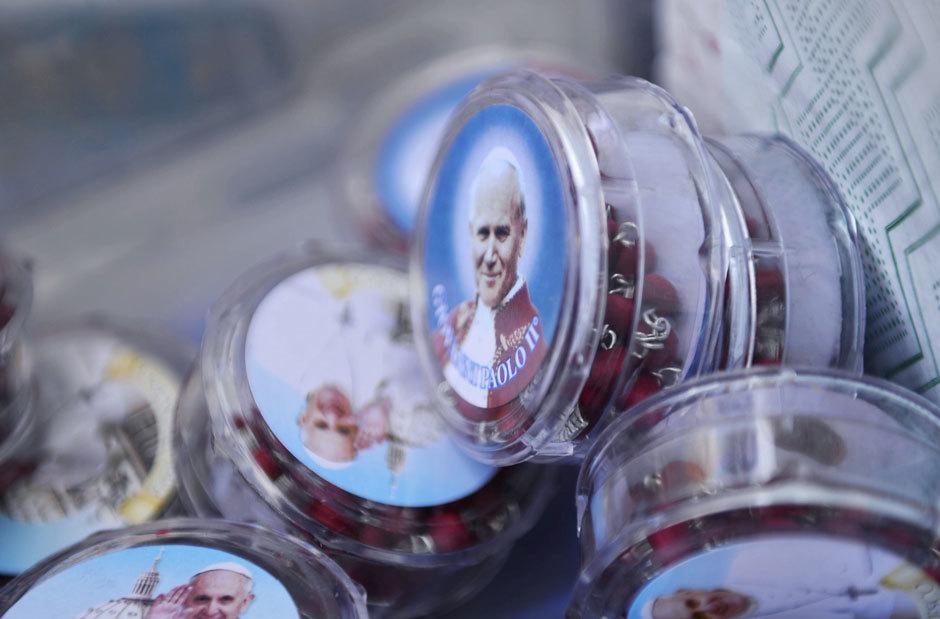 магнитики сувениры с папой римским