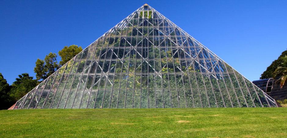 пирамида - оранжерея Сидней