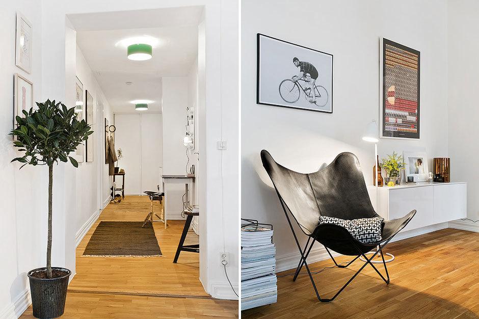 современная шведская квартира