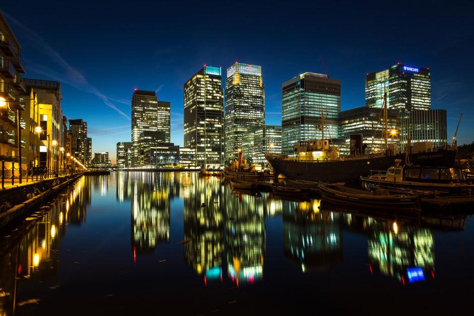 Архитектурные фотографии Лондона от Scott Baldock