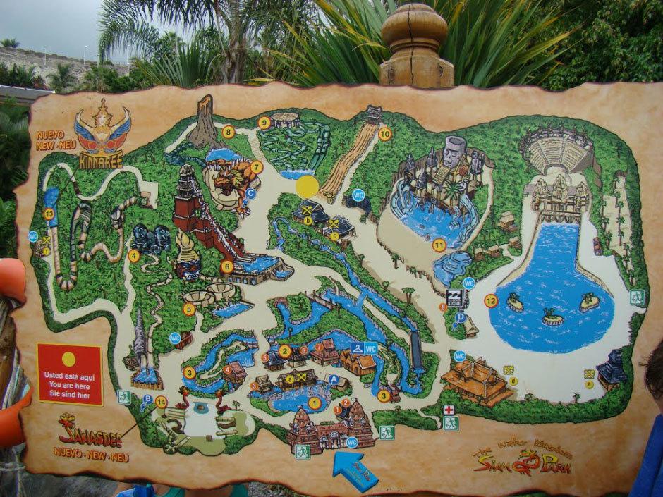 Аквапарк Сиам на Тенерифе