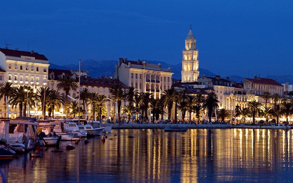 Современная Хорватия - город Сплит.