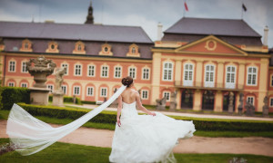 Пражская сказка: свадьба в Замке Добриш