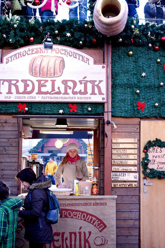 уличная еда в Чехии