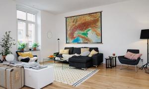 Интересный дизайн интерьера двухкомнатной квартиры
