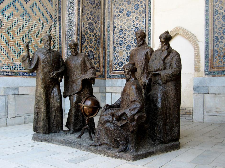 скульптура сын Тамерлана