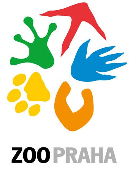 логотип зоопарка Праги
