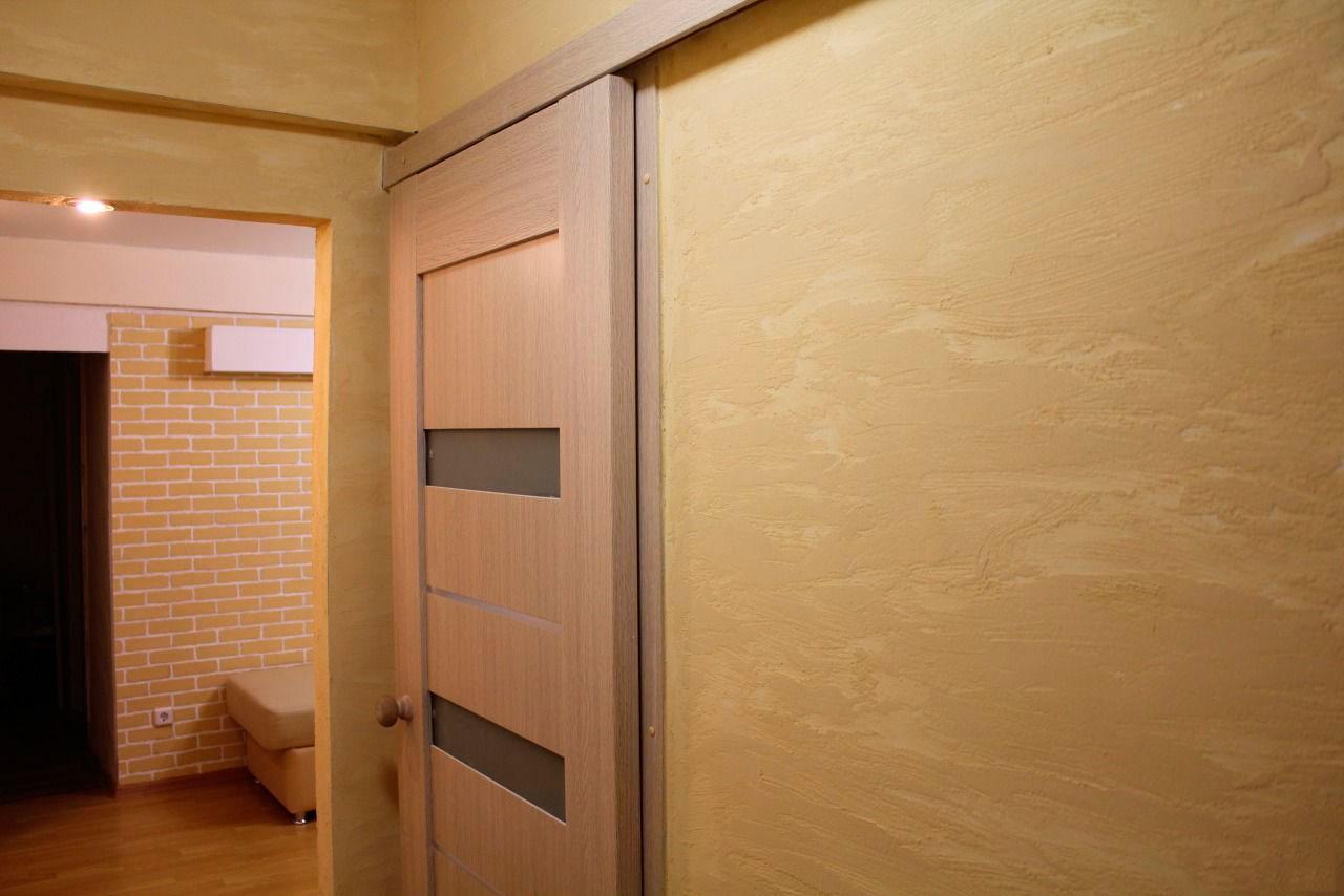 дверь на полозьях