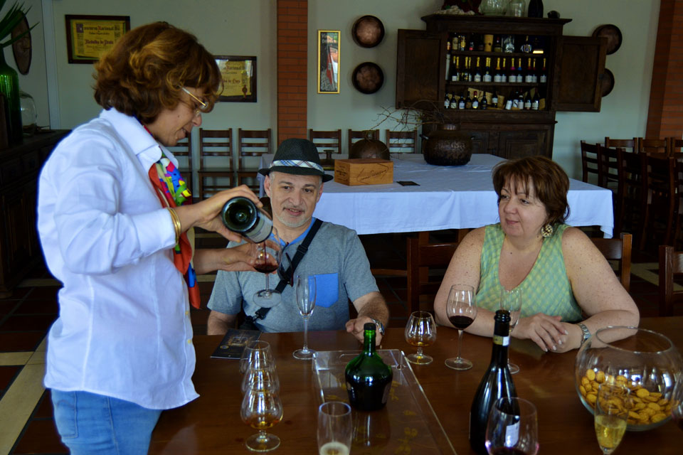 дегустация португальского вина