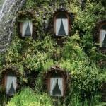 Необычный отель в виде вулкана в Чили