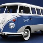 Необычный автомобиль Facebook от Volkswagen