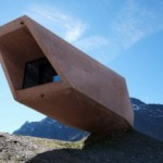Необычный Pass museum в австрийских горах