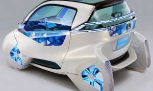 Honda Micro Commuter City Car Concept