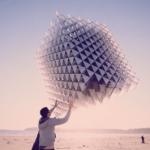 Кубический воздушный змей из треугольников
