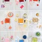 Дизайнерские пироги на основе цветовой палитры Pantone