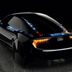Audi Visions с OLED кузовом