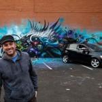 Jeff Soto — граффити на колесах