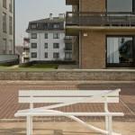 Скамейки уличные: дизайнерские решения на улицах Бельгии