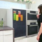 Концепт гаджета для холодильника
