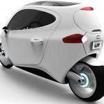 Автомобиль будущего от калифорнийских разработчиков: Lit C-1
