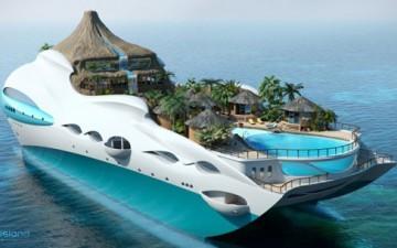 Тропический Райский Остров от Yacht Island Design